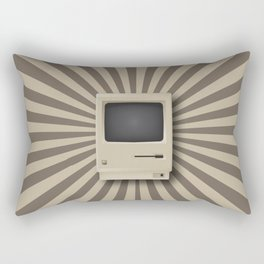 Retro Mac Rectangular Pillow