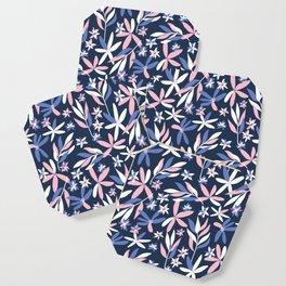 Graphic Florals Coaster
