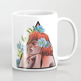 Blue Poppy Coffee Mug