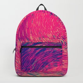 Colorful Concentric Circles Backpack