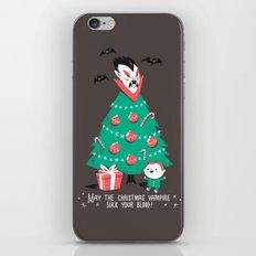 Return of the Christmas Vampire iPhone & iPod Skin