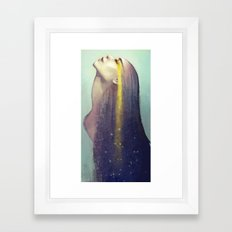 Constellation Framed Art Print
