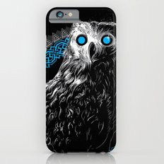 Midnight Owl - Teal iPhone 6s Slim Case