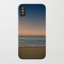 Barceloneta night iPhone Case