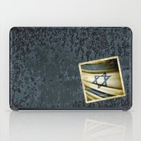 israel iPad Cases featuring Israel grunge sticker flag by Lulla