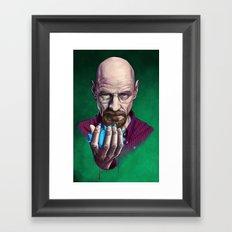 Heisenberg (Breaking Bad) Framed Art Print