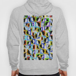 Square, dots tile pattern Hoody