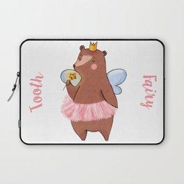 Bear Tooth Fairy Laptop Sleeve