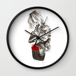 Military Jacket Wall Clock