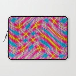 Wacky Plaid Laptop Sleeve
