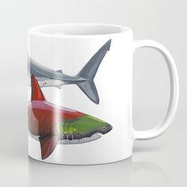 Salmon Sharks Coffee Mug