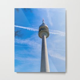 Olmpic tower Munich Metal Print