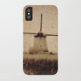 Vintage Mill iPhone Case