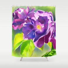 The Drama Queen Shower Curtain