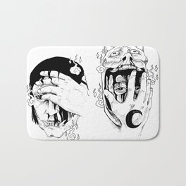 Consuming Night and Day Bath Mat