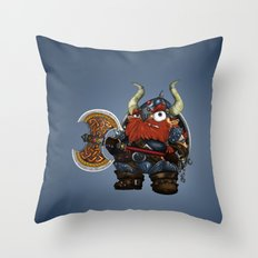dwarf Throw Pillow