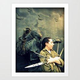 Defense Art Print