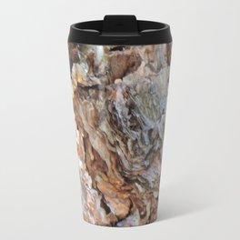 TEXTURES: Weeping Big Cone Pine Bark Travel Mug