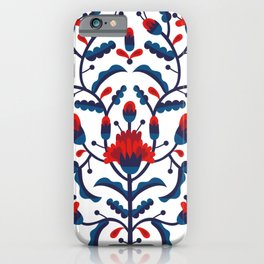 Mexican Floral iPhone Case