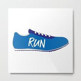 Running Shoes Metal Print
