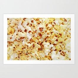 POPcorn. Art Print
