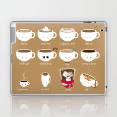 Know Your Coffees Laptop & iPad Skin
