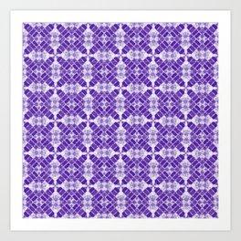Purple Quilt Art Print