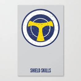 Taskmaster - Shield Skills Canvas Print