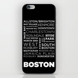 City of Neighborhoods - I iPhone Skin