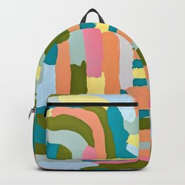 Chalky Matt swirl Backpack