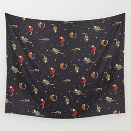 Cats in Space Wall Tapestry