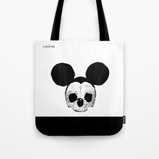 Dead Mickey Mouse Tote Bag