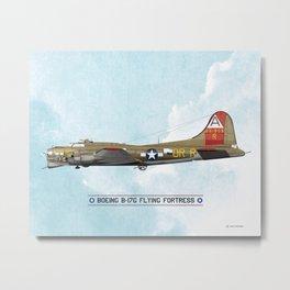 Boeing B-17 Flying Fortress - WW2 Metal Print