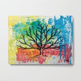 element tree Metal Print