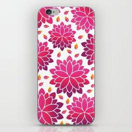Lotus Flowers Layout iPhone Skin