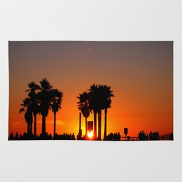 Venice Beach Sunset Rug