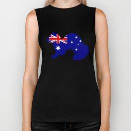 Australian Flag - Ferret Biker Tank