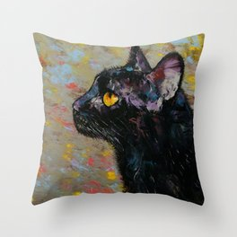 Déjà vu Throw Pillow