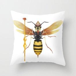 I am a Queen Throw Pillow