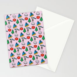 Pacific NW Print Stationery Cards