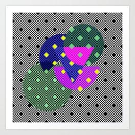 Pattern fun Art Print