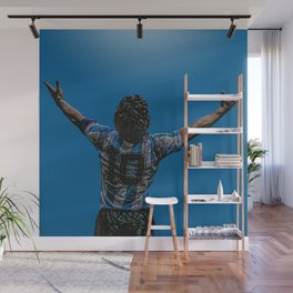 Maradona victorioso Wall Mural