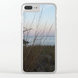 A Spray of Seagrass Clear iPhone Case