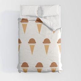 Chocolate and Vanilla Ice-creams Comforters