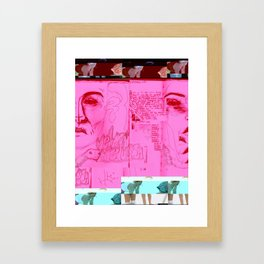 I Was Trying to Wake Up//Sleep Paralysis// Framed Art Print