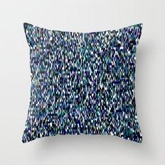 tangled blues Throw Pillow