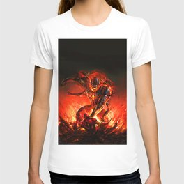 driven by the strength of the enemy T-shirt