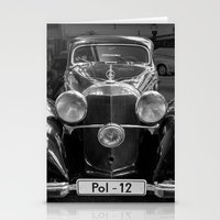 car Stationery Cards featuring Car vintage by Veronika