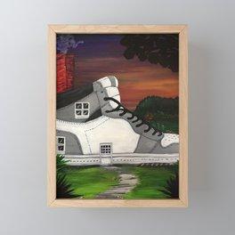 Shoe Value Framed Mini Art Print