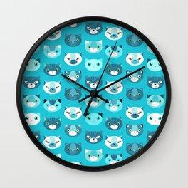 Kittens Wall Clock